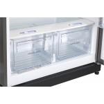 Réfrigérateur Unique 19' cu. au gaz STAINLESS