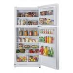 Réfrigérateur Unique 19' cu. au gaz BLANC