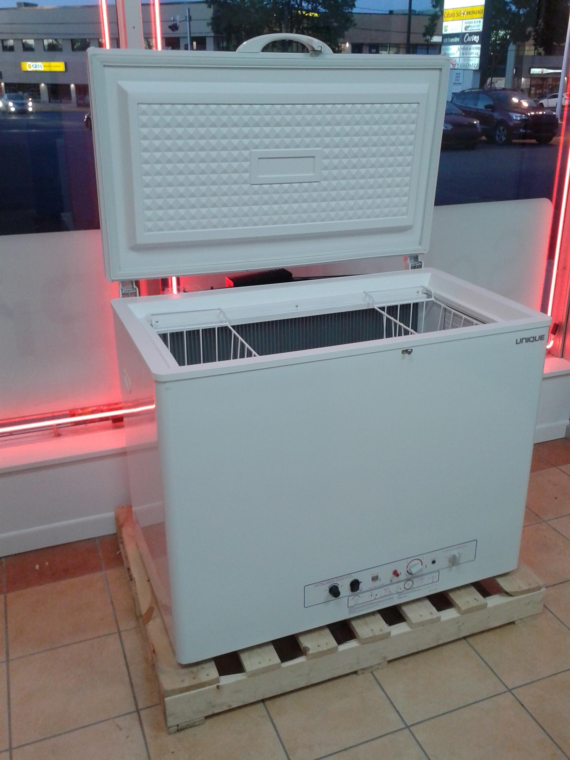 Congelateur au gaz for Chauffe piscine au propane